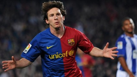 Lionel Messi2 e1297776521989 Top Ten UEFA Champions League Scorers of All Time