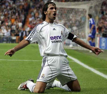 Raul Top Ten UEFA Champions League Scorers of All Time