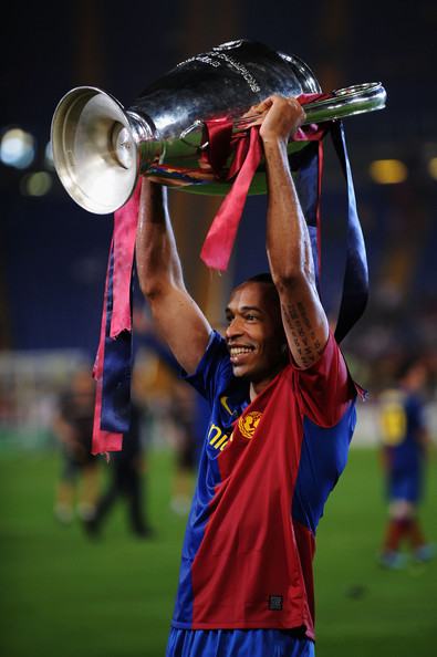 Thierry Henry Top Ten UEFA Champions League Scorers of All Time