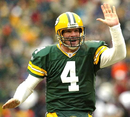Brett Favre Top Ten NFL All Time Passing Touchdowns Leaders