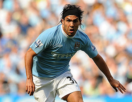 Carlos Tevez Highest Paid Footballers in the World for 2009 2010