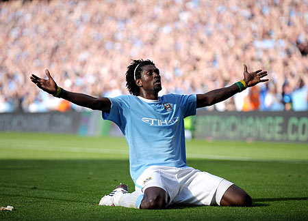 Emmanuel Adebayor Highest Paid Footballers in the World for 2009 2010