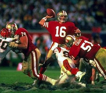 Joe Montana Top Ten NFL All Time Passing Touchdowns Leaders