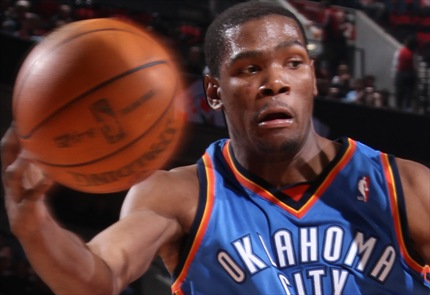 kevin durant and russell westbrook wallpaper. kevin durant okc dunk.