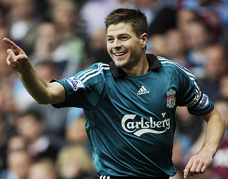 Steven Gerrard1 Highest Paid Footballers in the World for 2009 2010