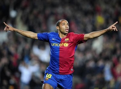 Thierry Henry Highest Paid Footballers in the World for 2009 2010