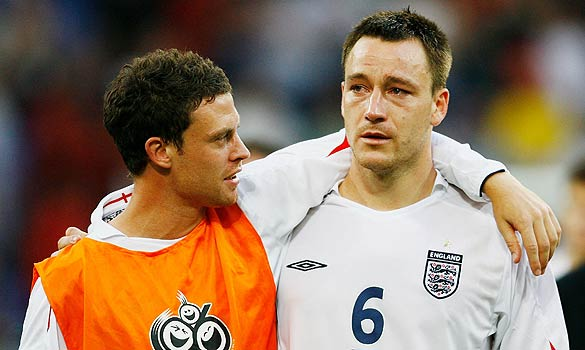 Wayne Bridge John Terry