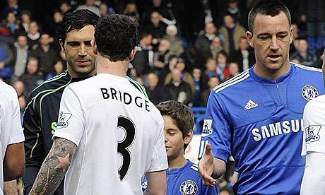 john terry wayne bridge. Wayne Bridge Manchester City