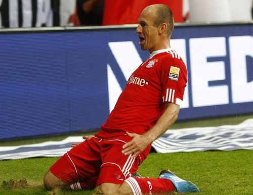 Arjen Robben Champions League Final 2010   What to Watch For   Robben and Sneijder