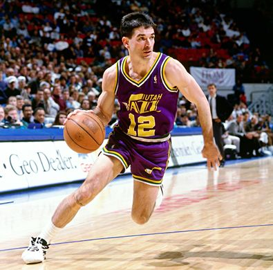 John Stockton Top Ten NBA Steals Leaders of All Time
