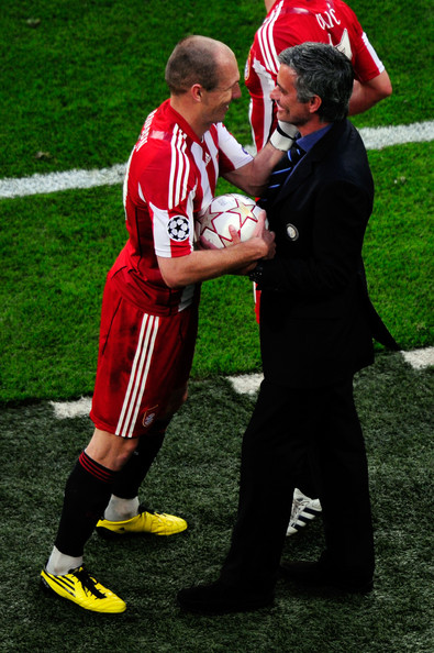 Robben Mourinho