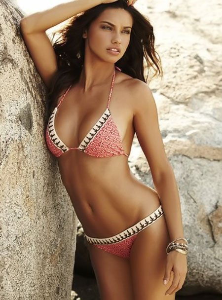 Adriana Lima Summer Edition – WAGS in Bikinis