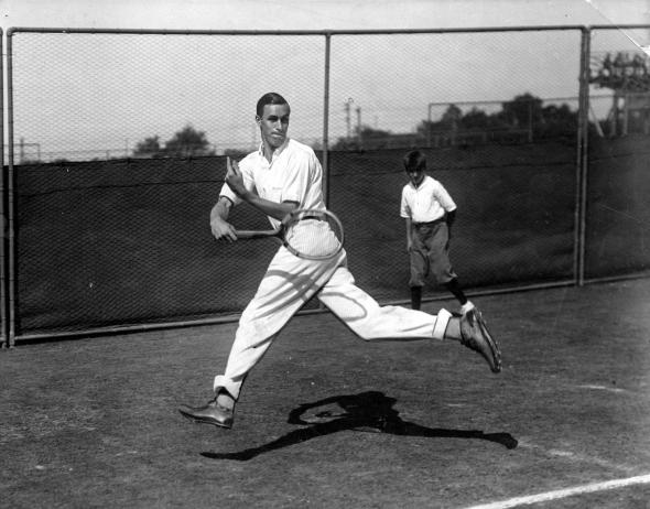 Bill Tilden Most Grand Slam Titles in Mens Tennis