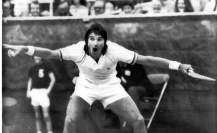 Jimmy Connors Most Grand Slam Titles in Mens Tennis