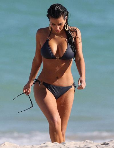 Kim Kardashian Summer Edition – WAGS in Bikinis