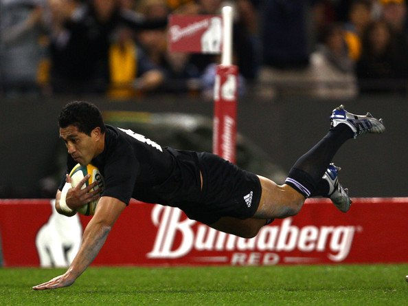 Mils Muliaina1 Best Photos From New Zealand's 49 28 Win Over Australia in the Tri Nations