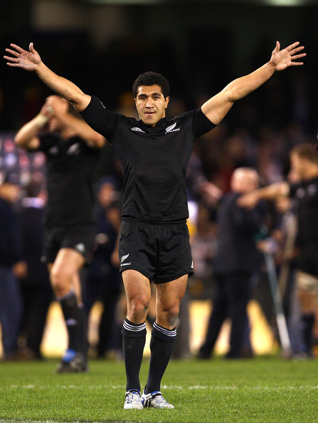 Mils Muliaina2 Best Photos From New Zealand's 49 28 Win Over Australia in the Tri Nations