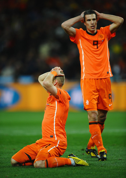 Robben Van Persie Top 9 Photos From the 2010 FIFA World Cup Final