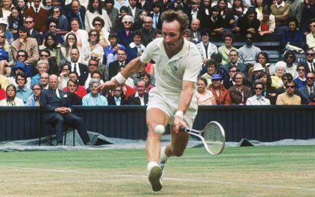 Rod Laver Most Grand Slam Titles in Mens Tennis