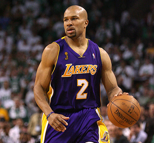 Derek Fisher Top Ten Oldest Players In The NBA, Heading Into 2010 2011