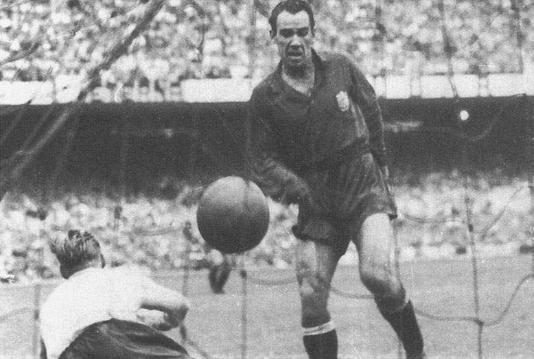 Telmo Zarra Top Ten Scorers in La Liga History