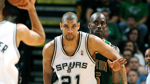 Tim Duncan The NBA's Top Ten Highest Player Salaries for 2010 2011