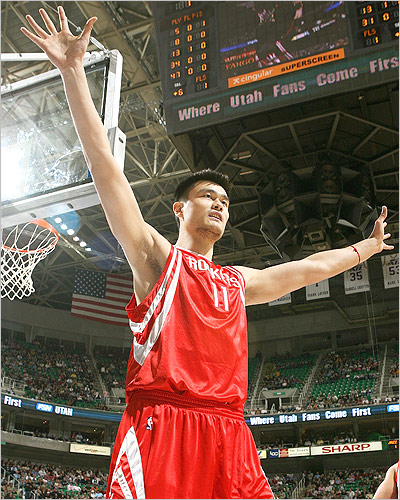 Yao Ming The NBA's Top Ten Highest Player Salaries for 2010 2011