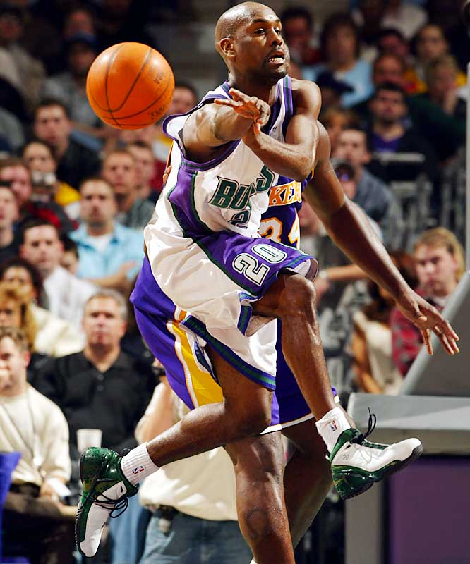 Gary Payton The NBAs Top Ten Point Guards Of All Time
