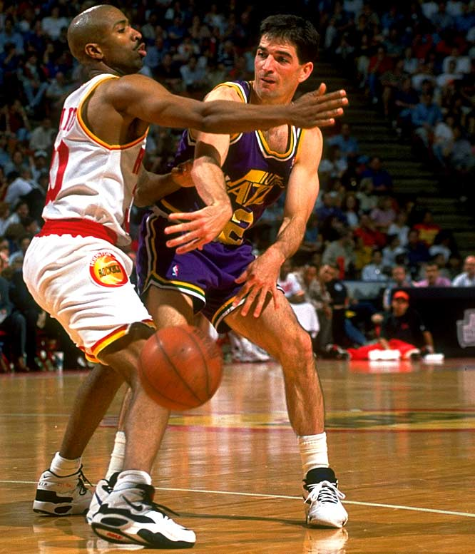 John Stockton1 The NBAs Top Ten Point Guards Of All Time