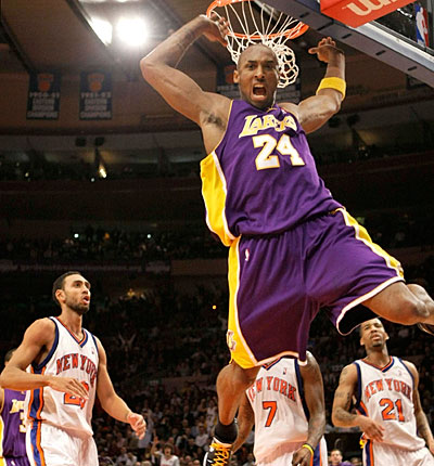 Number 1 – Kobe Bryant, Los Angeles Lakers