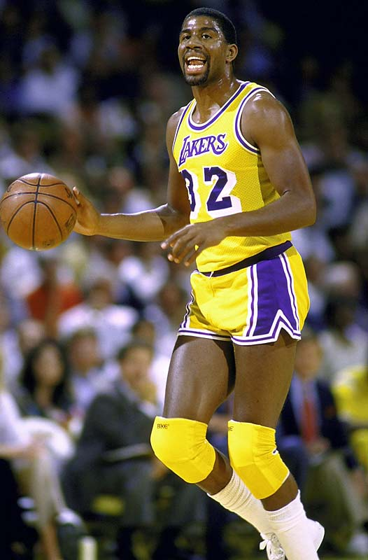 Magic Johnson The NBAs Top Ten Point Guards Of All Time