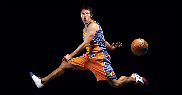 Steve Nash2 The NBAs Top Ten Point Guards Of All Time