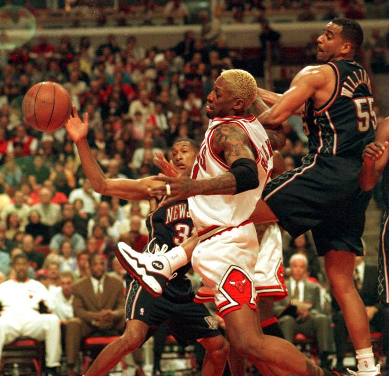 Dennis Rodman The NBAs Top Ten Power Forwards of All Time