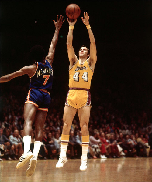 Jerry West The NBAs Top Ten Shooting Guards of All Time