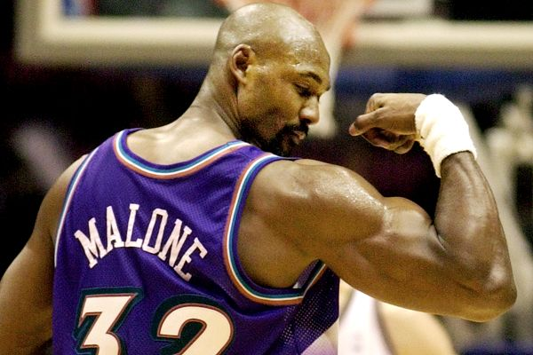 Karl Malone The NBAs Top Ten Power Forwards of All Time