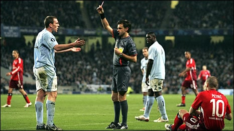Richard Dunne The English Premierships Red Card Kings