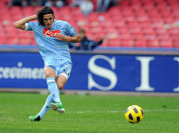 Edinson Cavani Top Scorers in Europes Top Leagues, December Edition