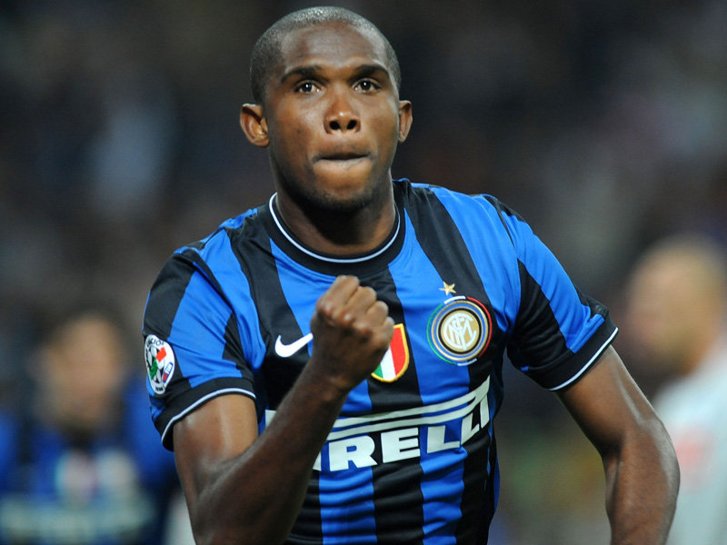 Samuel Etoo Top Scorers in Europes Top Leagues, December Edition
