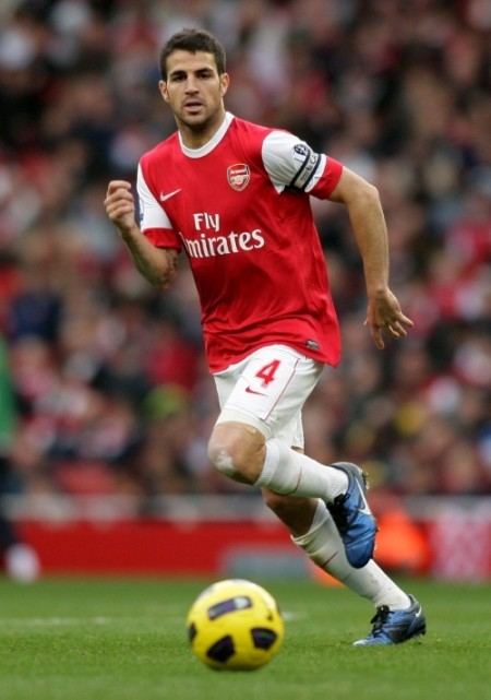 Cesc Fabregas e1296465186469 The Best Midfielders in the World   2011 Edition