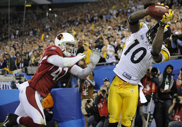 Santonio Holmes Ranking the Last Ten Super Bowls