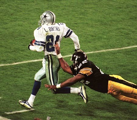 Larry Brown The History of the Super Bowl in Pictures Part II