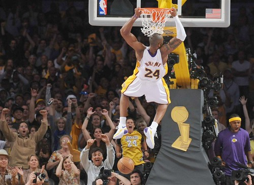 kobe bryant dunks on lebron james all star game 2011. LeBron James
