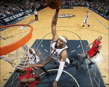 vince carter dunk. Vince Carter during his New