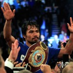 Manny Pacquiao Champion 150x150 Manny Pacquiao Easily Beating Sane Mosley