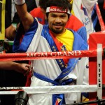 Manny Pacquiao Entering 150x150 Manny Pacquiao Easily Beating Sane Mosley