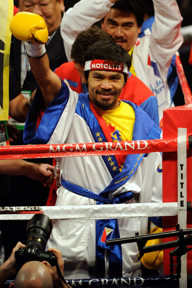 Manny Pacquiao Entering