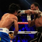 Mosley Left Hand 150x150 Manny Pacquiao Easily Beating Sane Mosley