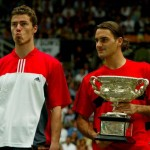 Federer Safin Australia 2004 150x150 How Roger Federer Looked When he Won Each of his 16 Grand Slam Titles