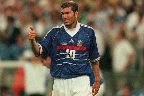 Zinedine Zidane Top Scorers in the Euro History