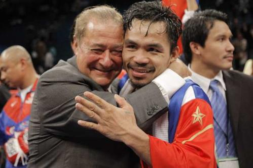 Arum Pacquiao Pacquiao Camp Trying to Reel in Mayweather
